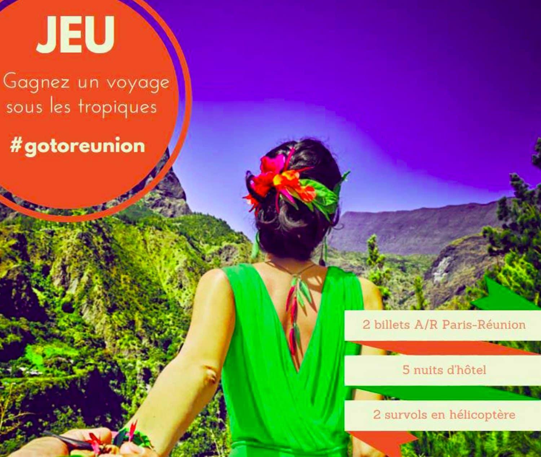 ARTICLE-L'Île de la Réunion Tourisme vous fait gagner un voyage sous les tropiques !