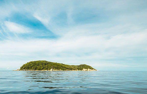 Ilot du lagon de Mayotte