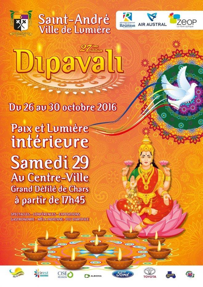 ARTICLE-Rendez-vous pour le Dipavali, fête de la lumière à Saint-André
