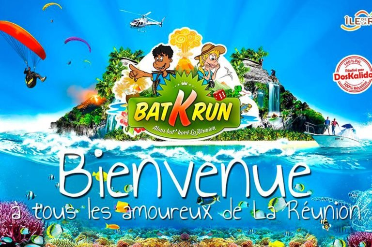 Batkrun, the new Reunion Island game