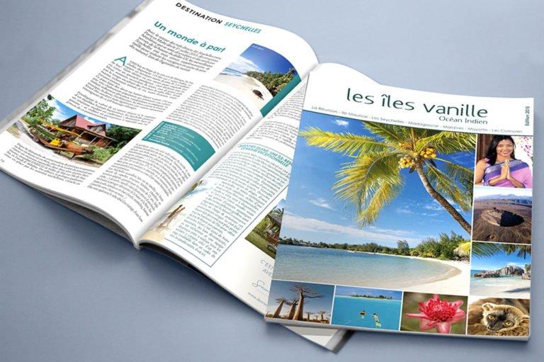 Brochure Îles Vanille