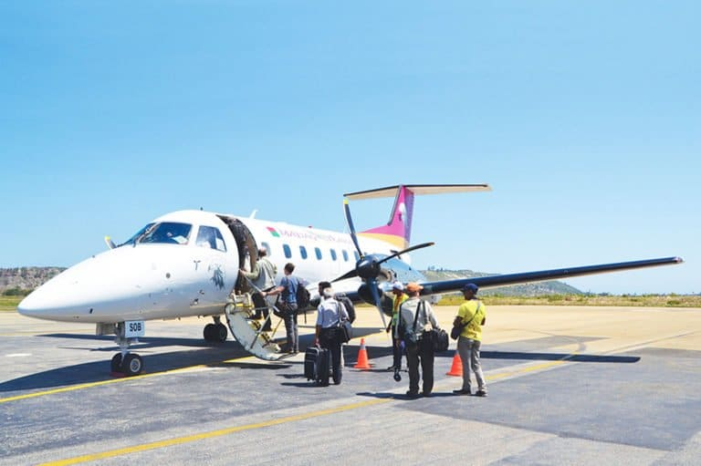 ACCUEIL-Vol inaugural de Madagasikara Airways