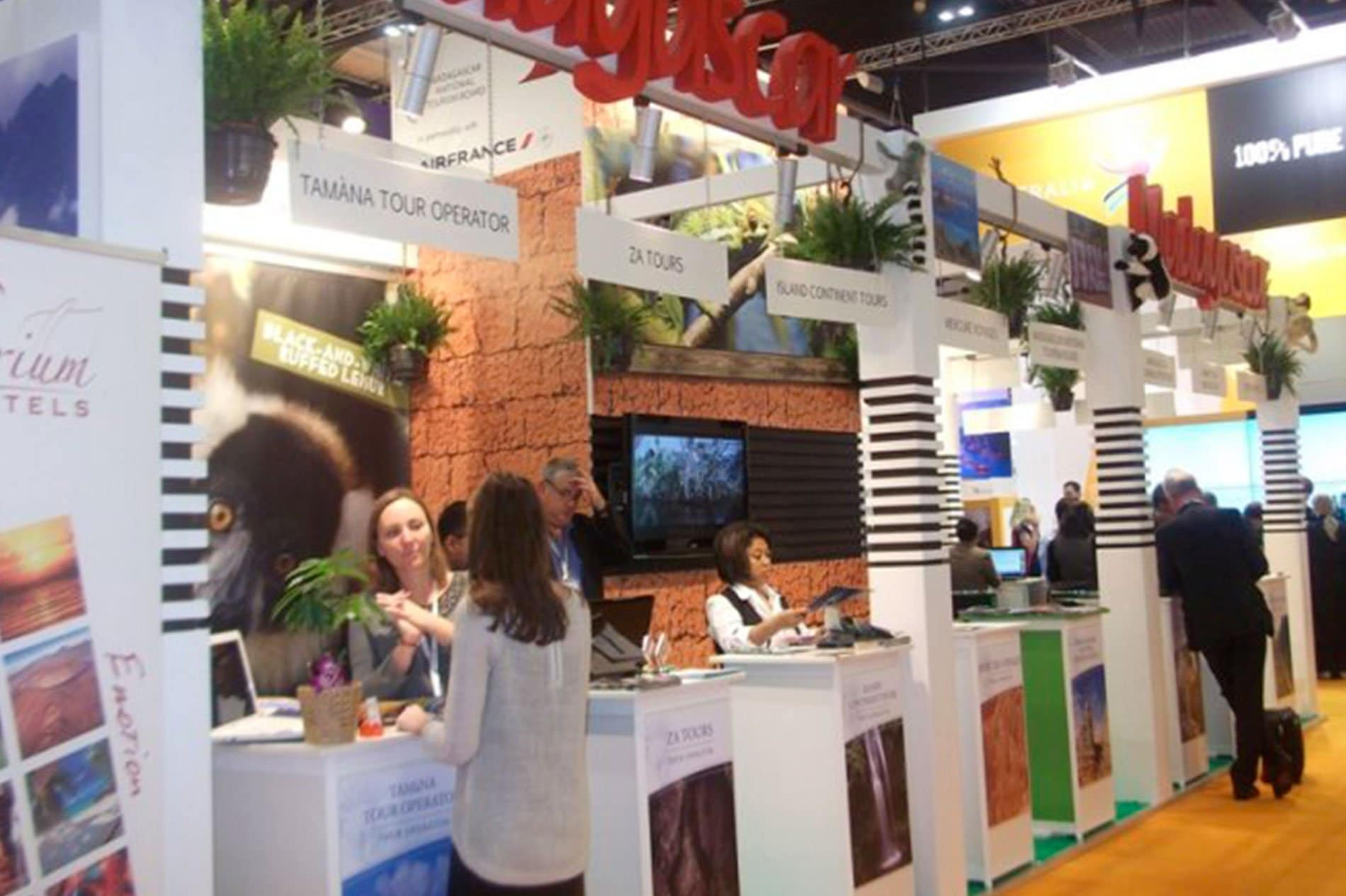 ACCUEIL-Madagascar at the World Travel Market in London