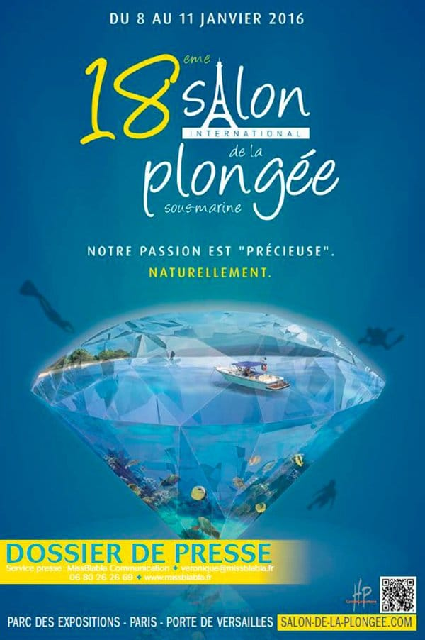 ARTICLE-Salon de la plongée 2016 : immersion à l'Île de la Réunion !