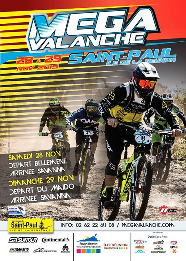ARTICLE-20th edition of the Megavalanche in Reunion Island