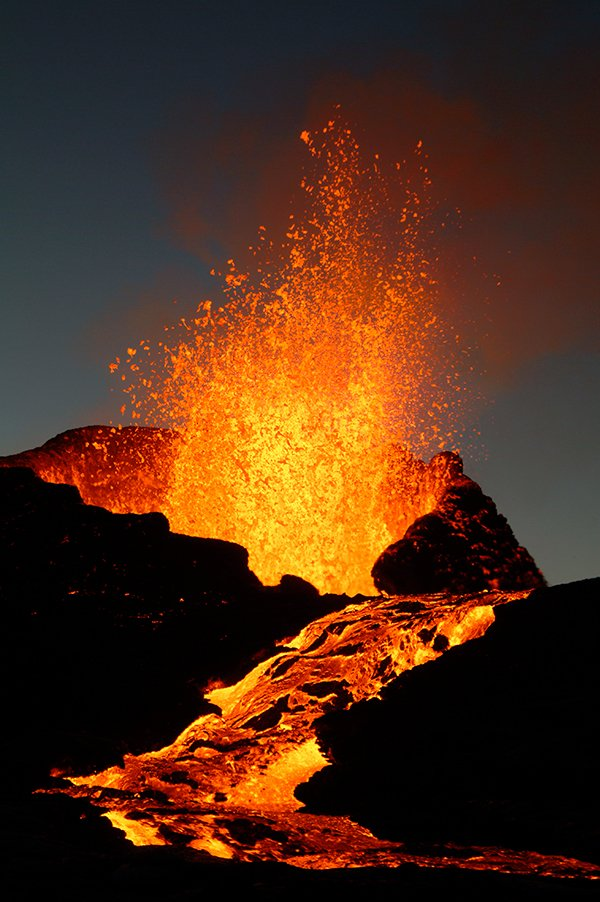 ARTICLE-The Piton de la Fournaise plays its symphony !