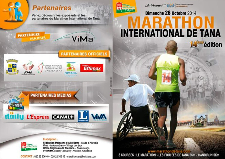 Affiche Tana international marathon