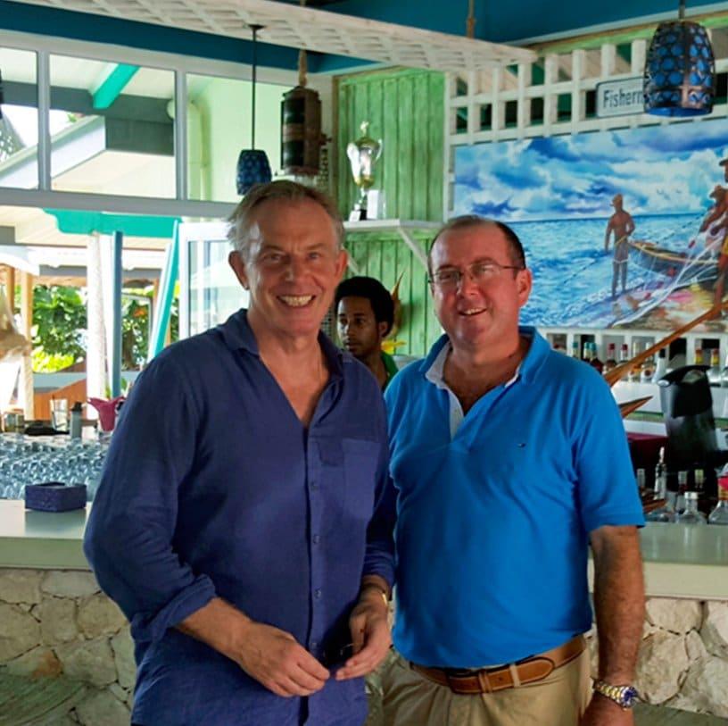 ARTICLE-Tony Blair en séjour privé aux Seychelles