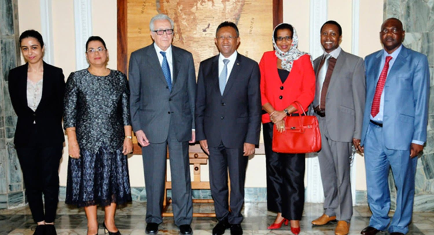 ARTICLE-The African union's visit to Madagascar