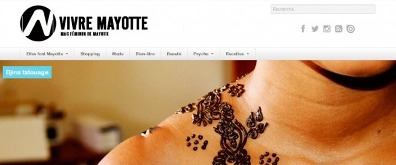 ARTICLE-Vivre Mayotte launch, online women's magazine for Mayotte