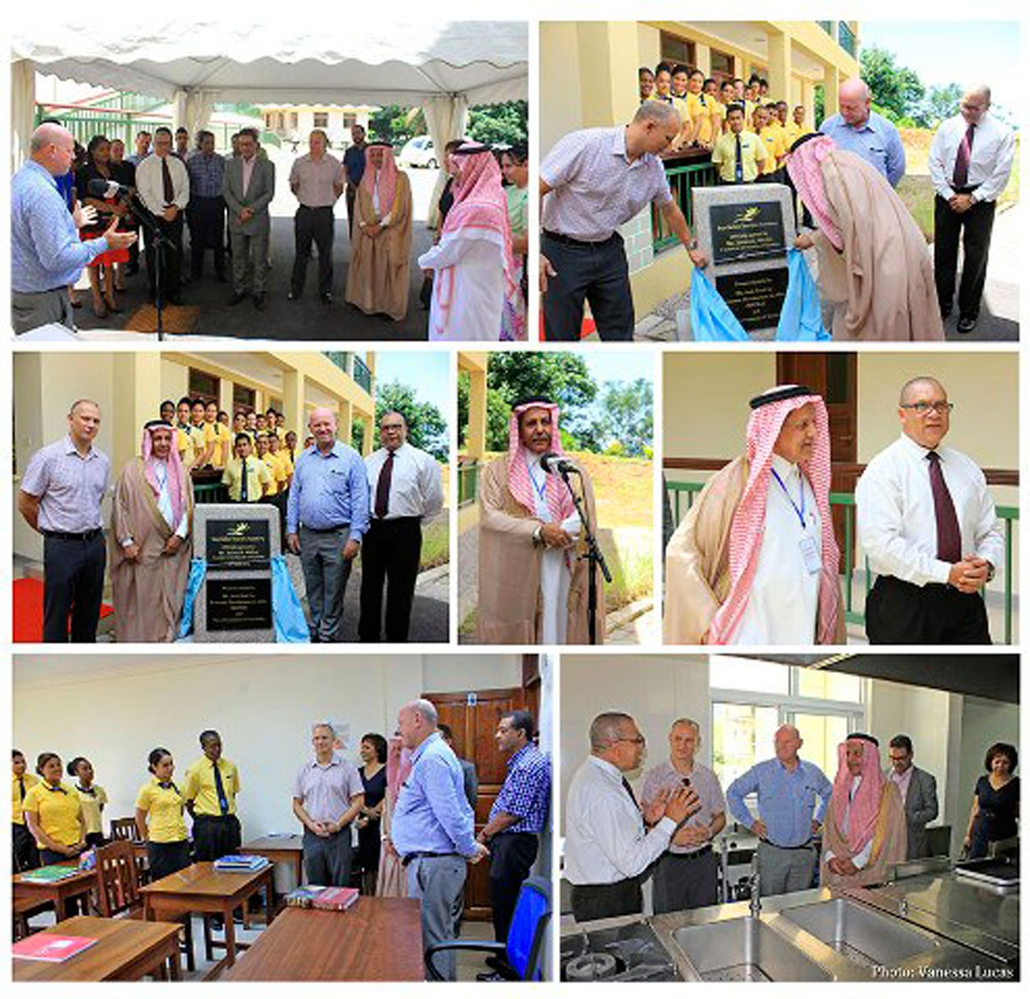 ARTICLE-Badea's chair person pledges continued support to the Seychelles Tourism Academy