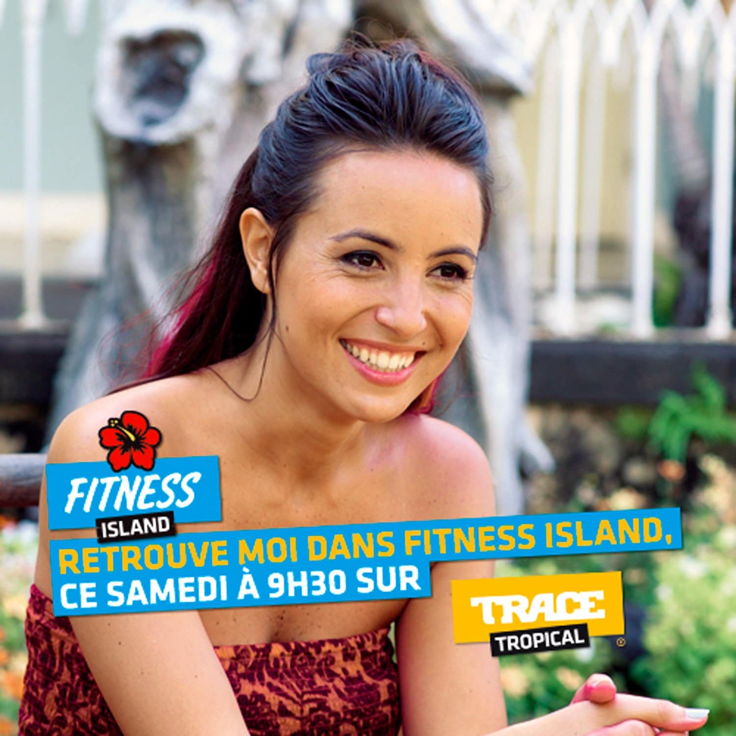 ARTICLE-Fitness Island with Audrey Dardenne on trace tropical
