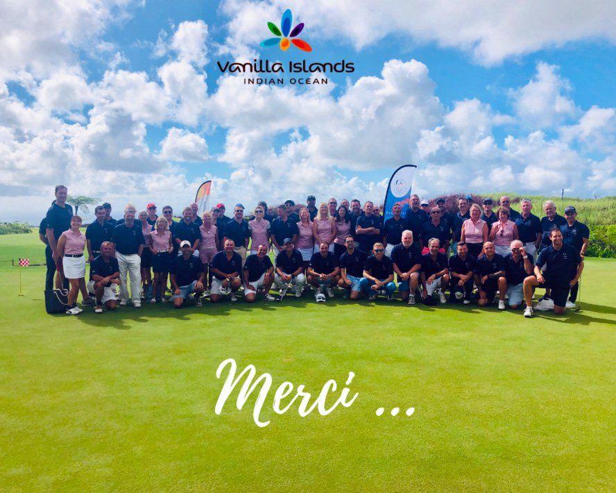 les participants vanilla islands golf pro am 2018