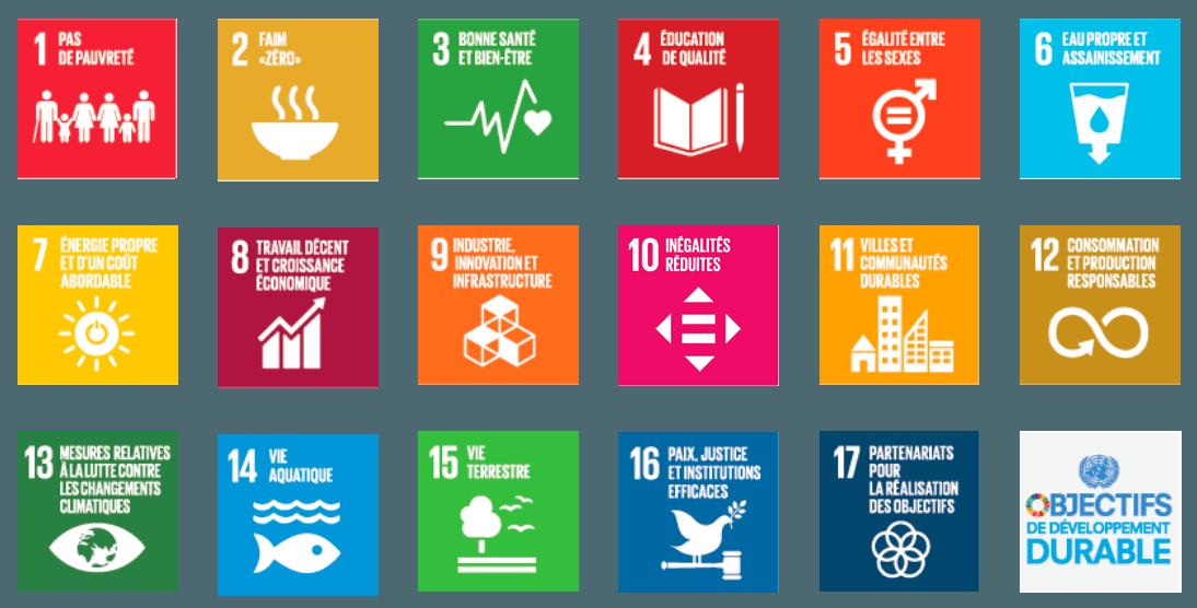 objectifs de developpement durable