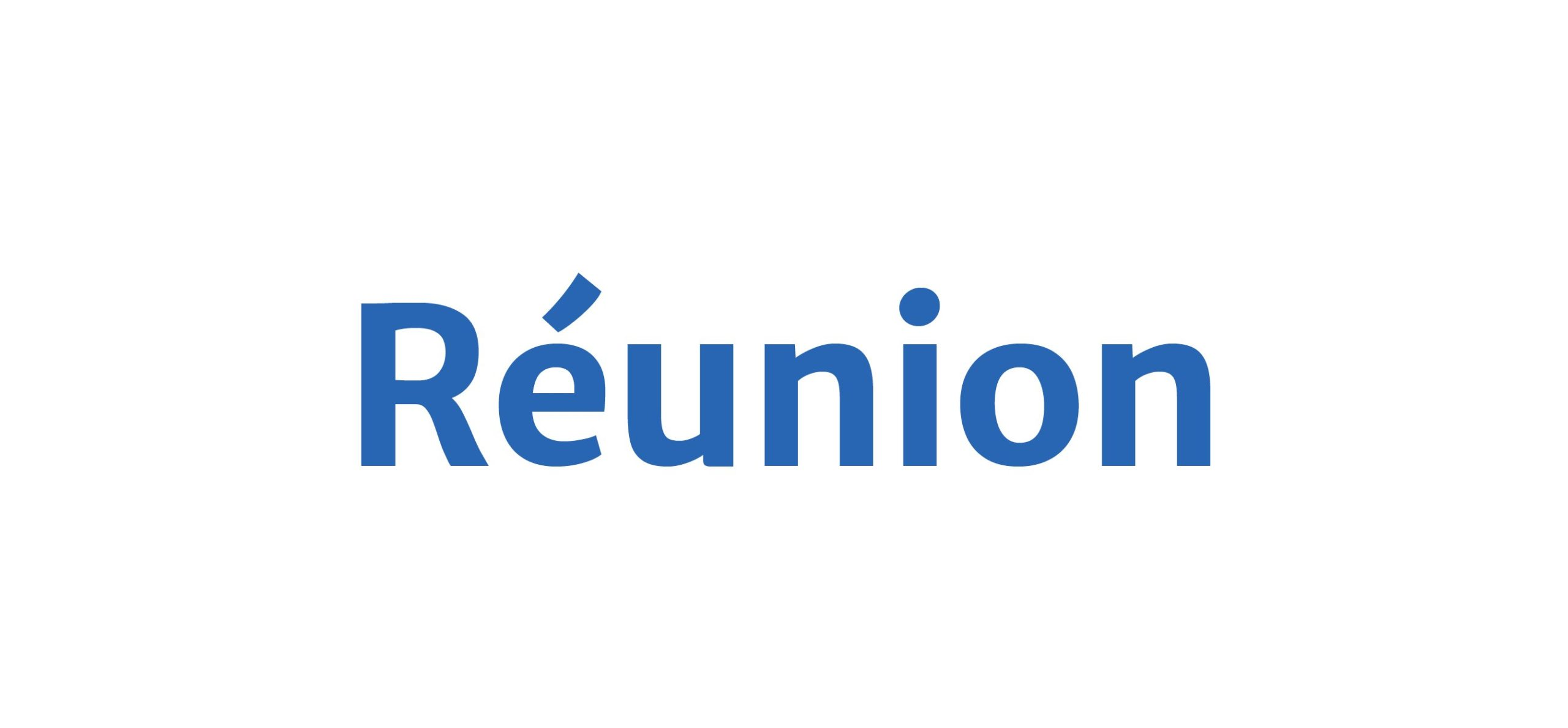 Île de la Réunion - Logo Réunion FR