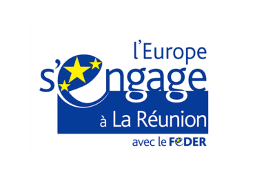 Îles Vanille - Logo L'Europe s'engage à la Réunion