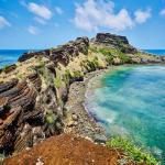Les Comores - Paysage littoral océan