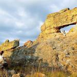 Madagascar - Paysage rocher jaune