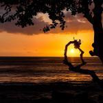 Île Maurice - Vue plage couché de soleil