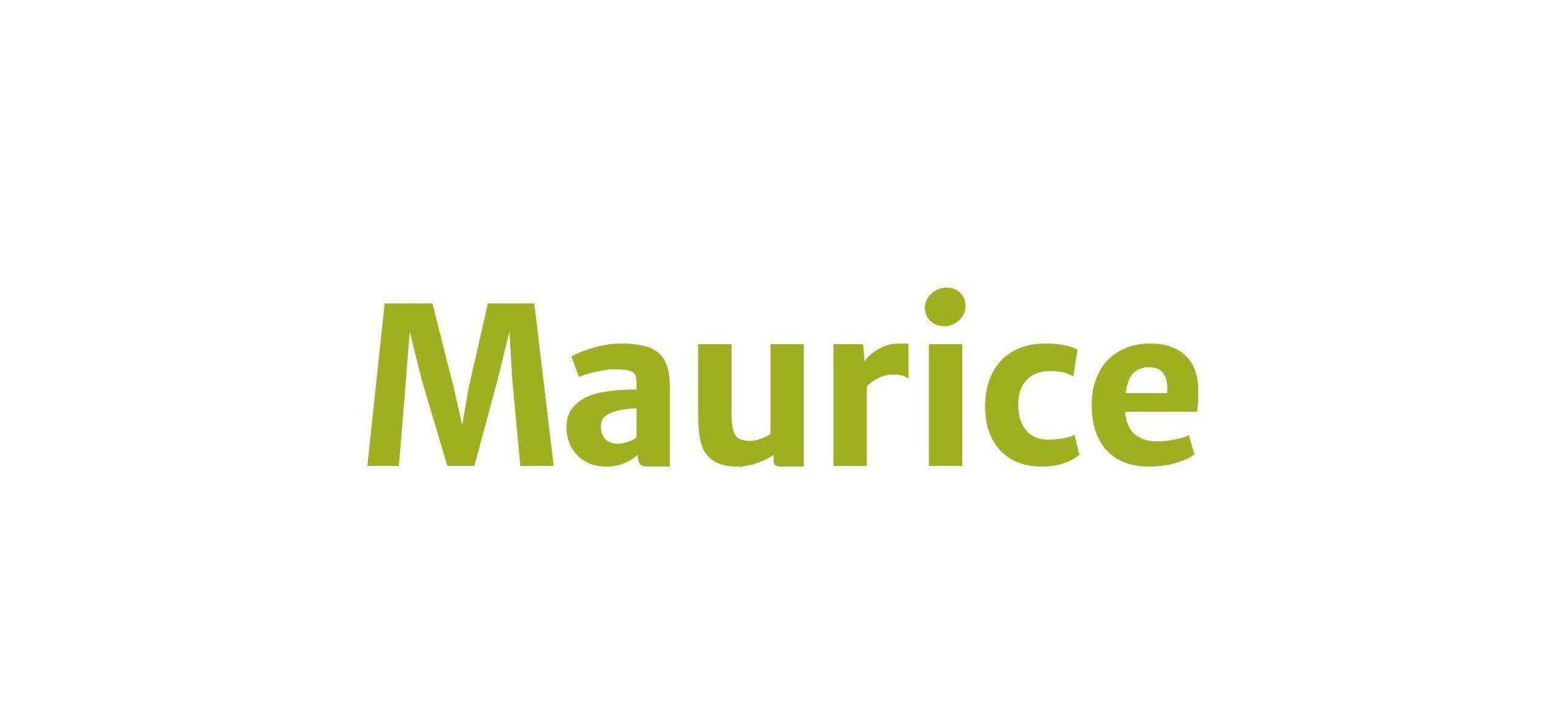 Île Maurice - Logo Maurice vert