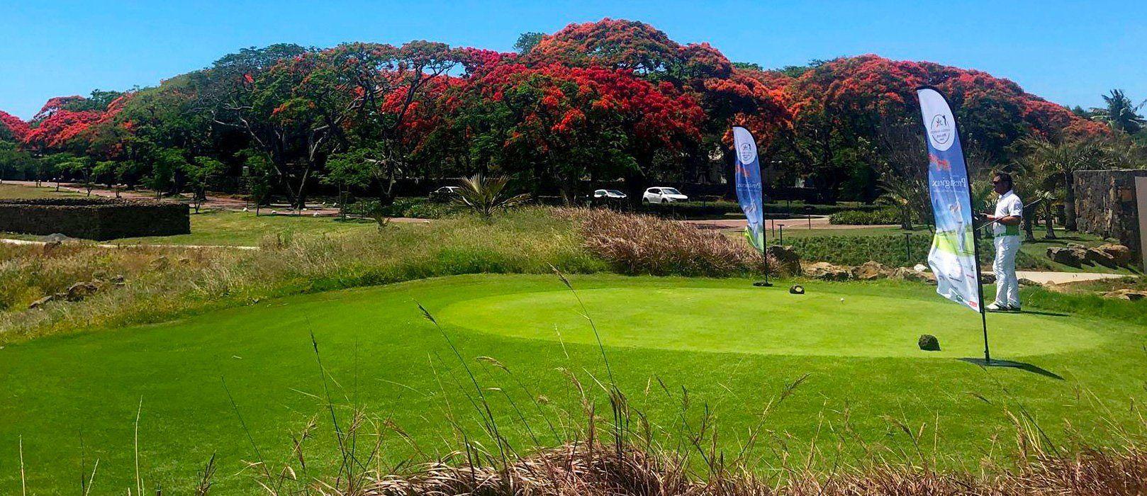 Arrival Vanilla Island golf 2018
