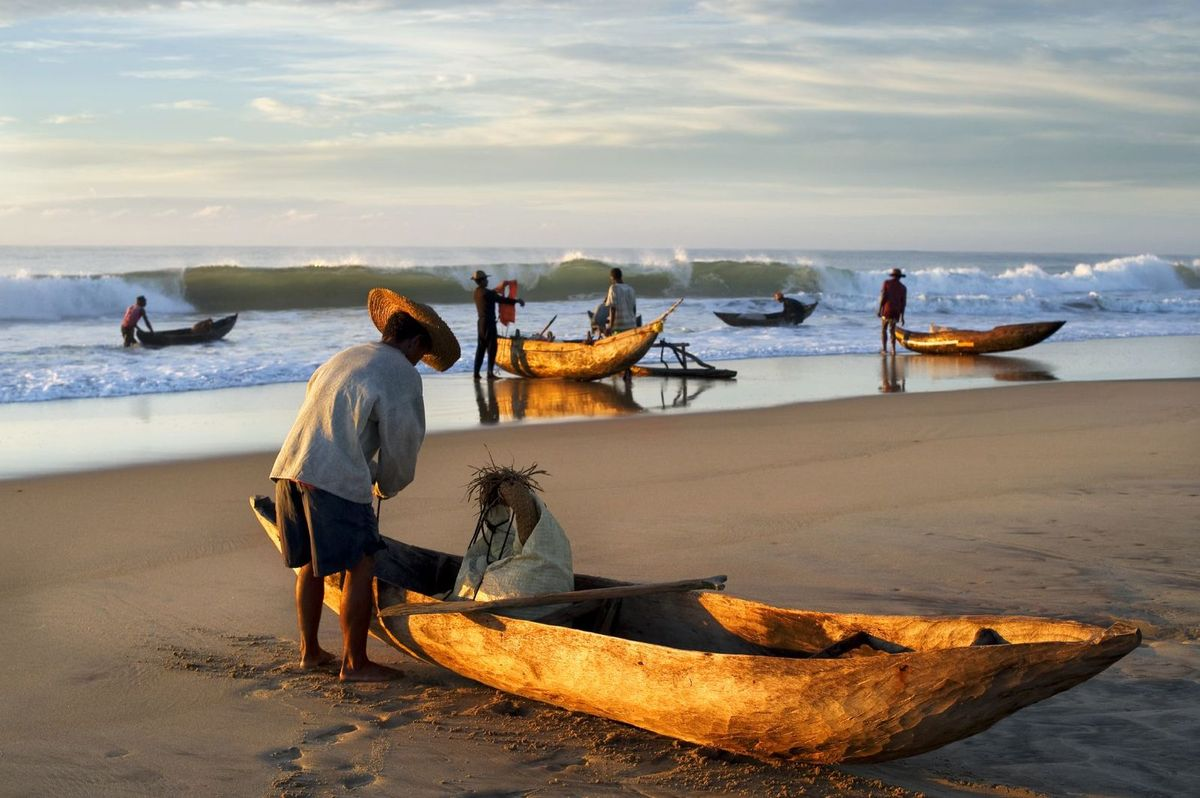 traditional boat of madagascar