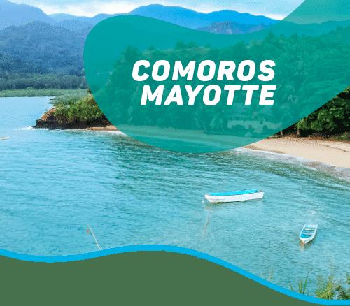 From Karthala volcano to Mahorais lagoon