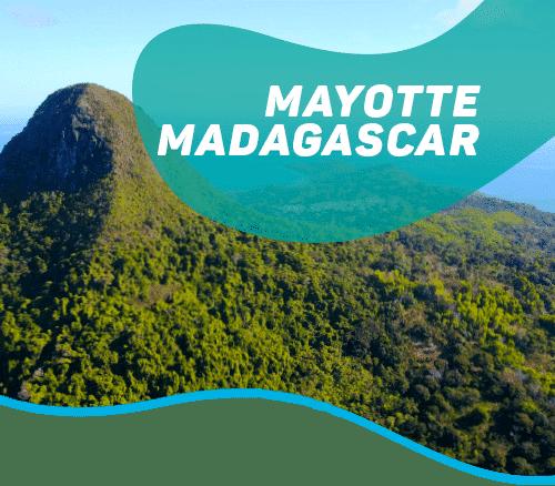 From the Mayotte lagoon to the Tsingy of Ankarana
