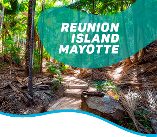 From the Piton de la Fournaise volcano to the Mahorais lagoon
