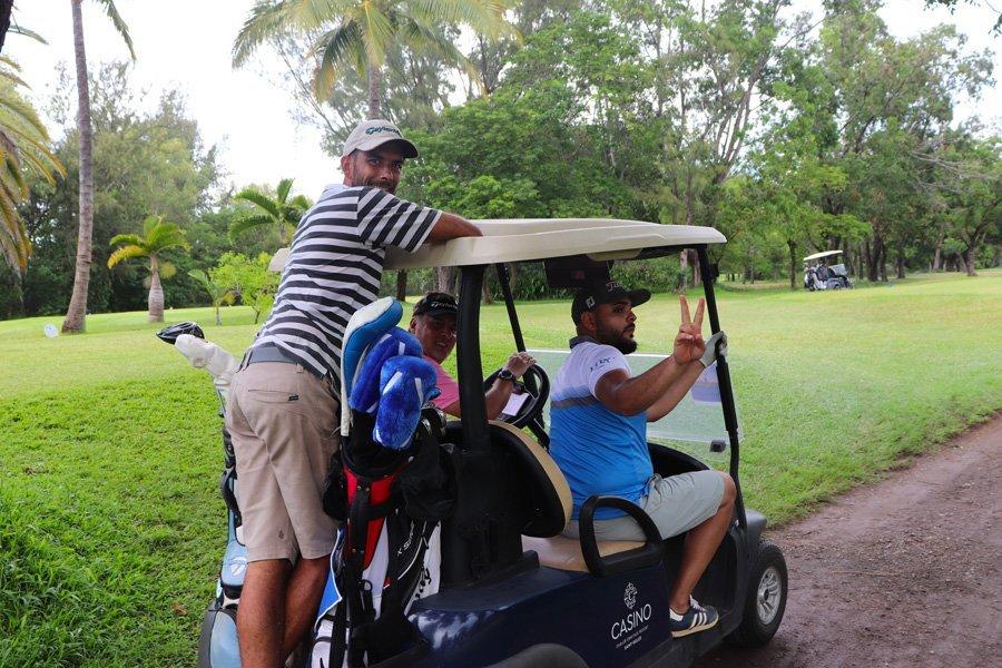 golf de bourdon - voiturette