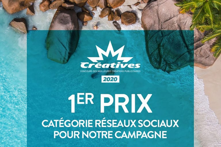 Créatives 2020: 1er prix dans la catégorie « Réseaux Sociaux »