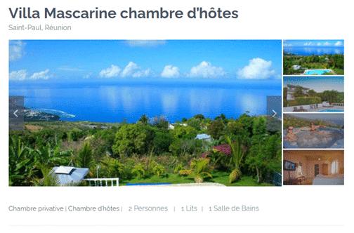 Site web Location Francophone