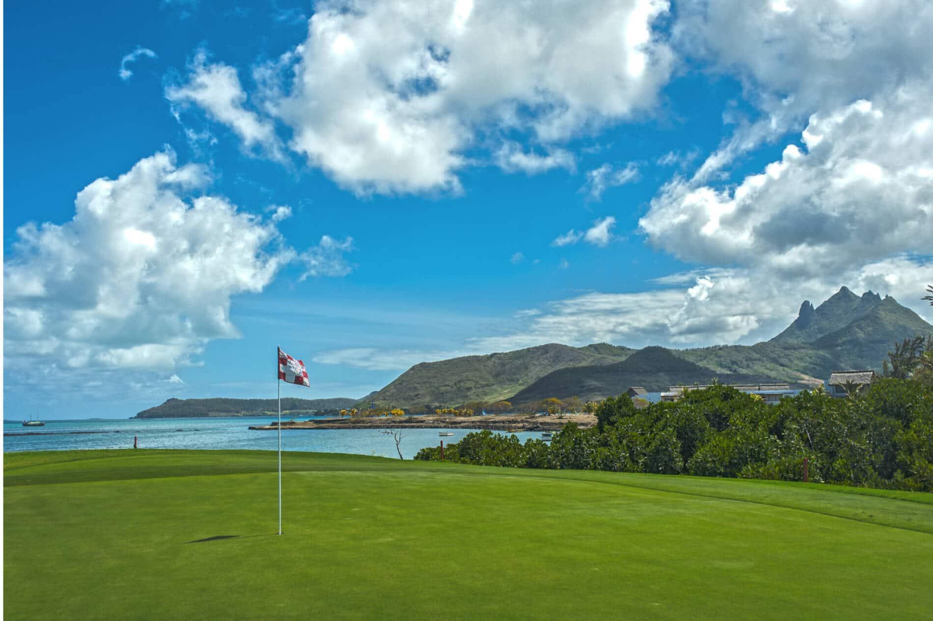 golf vue mer